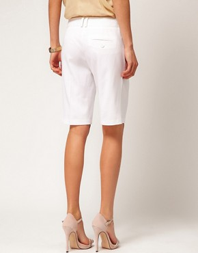 Image 2 of ASOS Smart Shorts In Longer Length