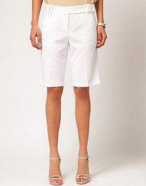 Image 4 ofASOS Smart Shorts In Longer Length