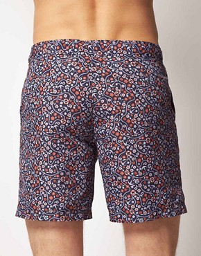 Image 2 ofASOS Swim Shorts With Anchor Print