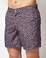 Image 1 ofASOS Swim Shorts With Anchor Print