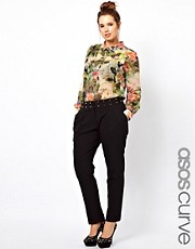 ASOS CURVE Exclusive Pants With Studs