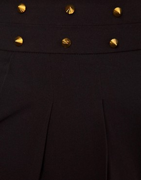 Image 3 ofASOS CURVE Exclusive Trousers With Studs