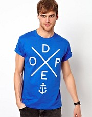 River Island T-Shirt With Dope Print