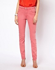 BZR Coloured Jeans in High Waist Fit