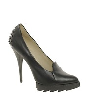 McQ By Alexander McQueen Studded Platform Pumps