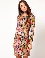 Paul by Paul Smith Gypsy Dress in Floral Jersey