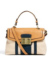 Fiorelli Alice Top Handle Color Block Satchel Bag