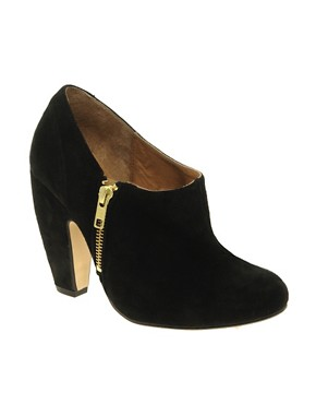 Image 1 ofASOS TREAT Suede Shoe Boots
