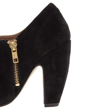 Image 3 ofASOS TREAT Suede Shoe Boots