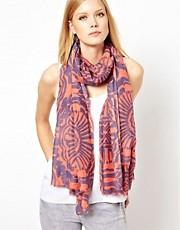 French Connection Mex Two Colour Scarf
