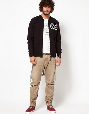 Image 4 ofG-Star Sweatshirt Aero Bomber Zip Front