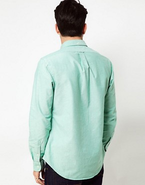 Image 2 ofPolo Ralph Lauren Shirt In Green Oxford