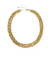 ASOS 3 Row Twist Necklace