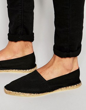 Image 1 ofASOS Canvas Espadrilles