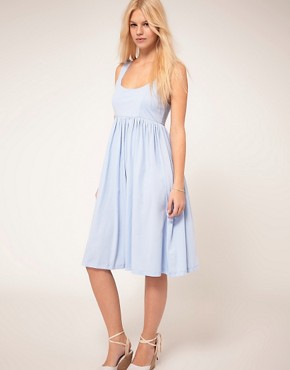 Image 1 ofASOS Summer Dress With Swing Hem