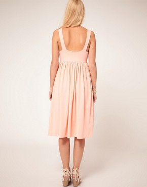Image 2 ofASOS Summer Dress With Swing Hem