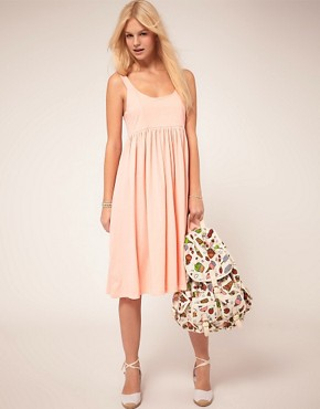 Image 4 ofASOS Summer Dress With Swing Hem