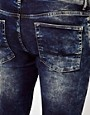 Image 3 ofASOS Super Skinny Jeans In Acid Wash