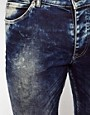 Image 4 ofASOS Super Skinny Jeans In Acid Wash