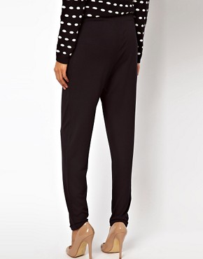Image 2 of ASOS Peg Trousers in Jersey