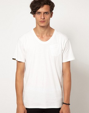 Image 1 ofG Star Loose 1 Pocket Marl T-Shirt