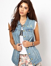 Only Sleeveless Denim Jacket