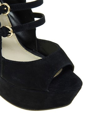 Image 3 ofKG Hyacinth Multi Strap Wedges