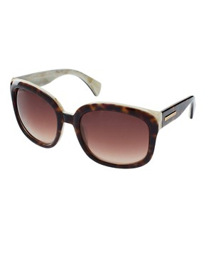 Image 1 ofAlexander McQueen Two Tone Sunglasses