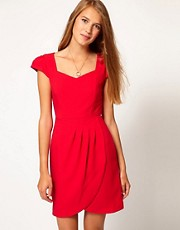A Wear Sweet Heart Neck Dress
