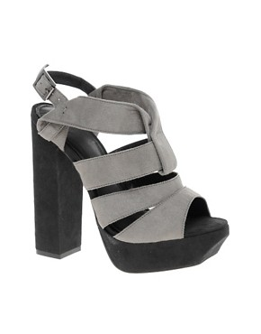 Image 1 ofASOS HARLEY Origami High Sandals