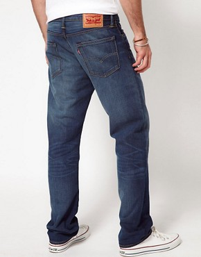 Image 2 of Levis Jeans 504 Regular Straight Pcw Punked