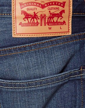 Image 3 of Levis Jeans 504 Regular Straight Pcw Punked