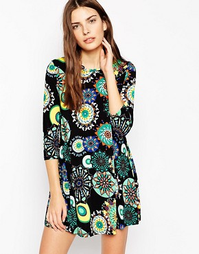 AX Paris Printed Swing Dress