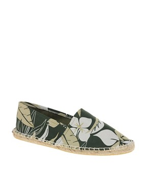 Image 1 ofASOS Floral Print Espadrilles