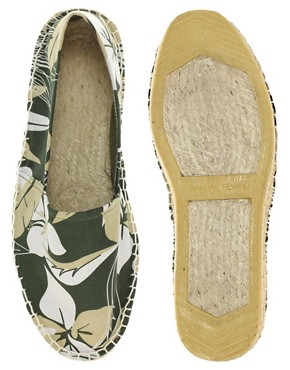 Image 3 ofASOS Floral Print Espadrilles