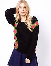 To Love Kuvaa Roses Mohair Knit Sweater