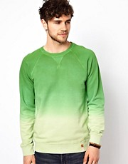 Esprit Sweatshirt With Dip Dye
