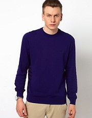 Fred Perry Laurel Wreath Jumper with Seam Shift Stripe