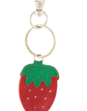 Image 2 ofASOS Strawberry Handbag Charm