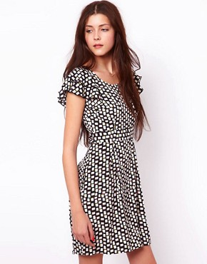 Image 1 ofVero Moda Geo Print Dress