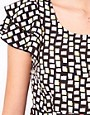 Image 3 ofVero Moda Geo Print Dress