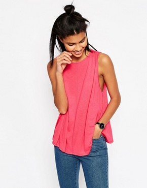 ASOS Swing Vest With Drape