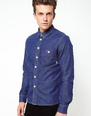 Revolution Denim Shirt with Aztec Details