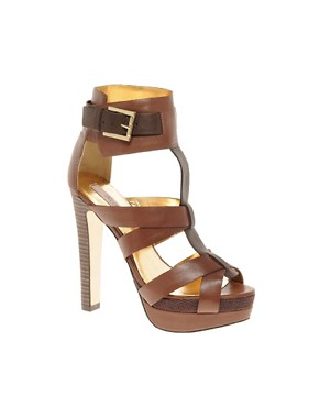 Image 1 ofTed Baker Calluna Leather Sandals