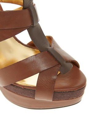 Image 3 ofTed Baker Calluna Leather Sandals