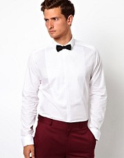 ASOS Smart Shirt With Bib Detail