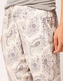 Image 3 ofOysho Paisley Harem PJ Pant