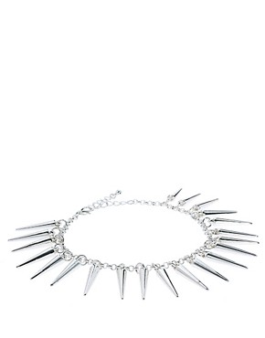 Image 2 ofASOS Spike Anklet