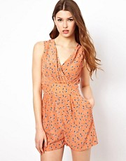 Jovonnista Printed Playsuit
