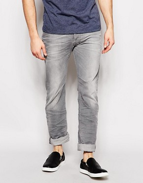 Diesel Jeans Safado 839N Straight Fit Light Grey Wash